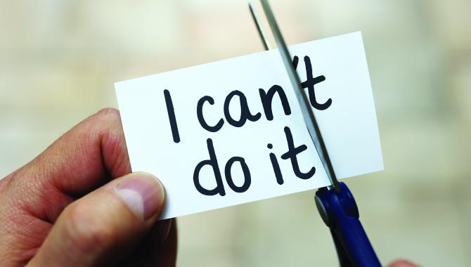 """I can do it"" note"