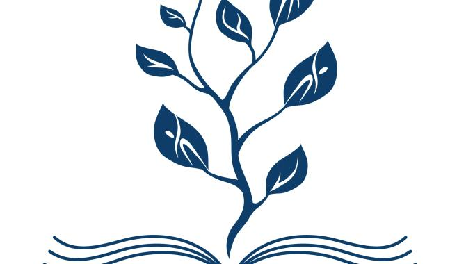 nwsisd logo--book with leaves coming out