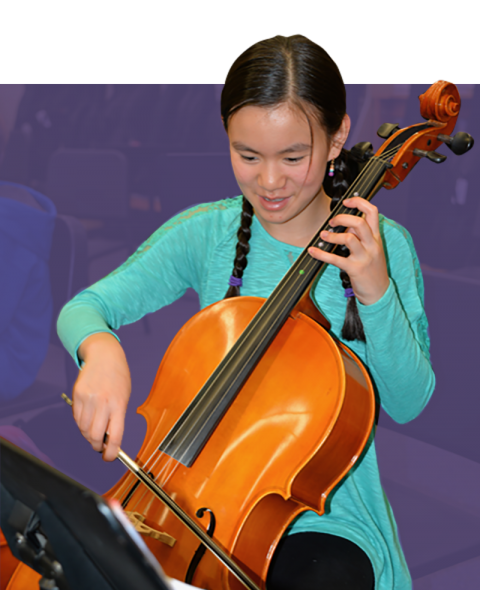 Middle School Cello Player